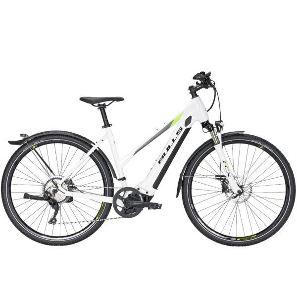 Bulls Cross Rider Evo 1 elektromos kerékpár fehér színben