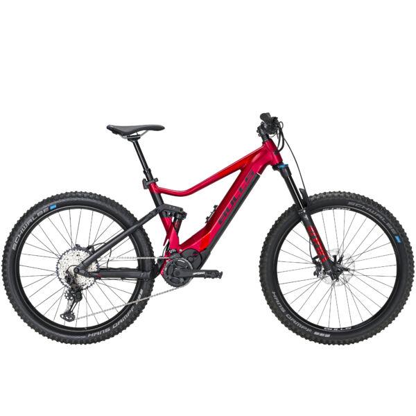Bulls E-Stream Evo AM 4 elektromos kerékpár vörös színben