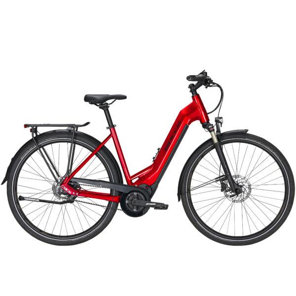 Bulls Lacuba Evo Lite 5F elektromos kerékpár meggypiros színben