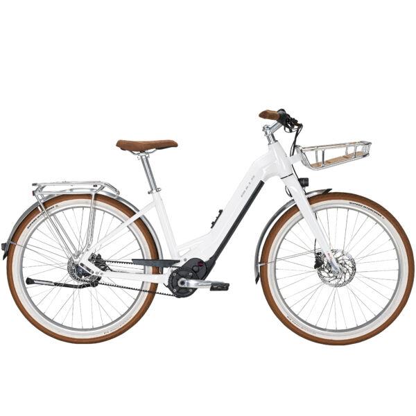 Bulls Sturmvogel Evo 5 Belt elektromos kerékpár fehér színben