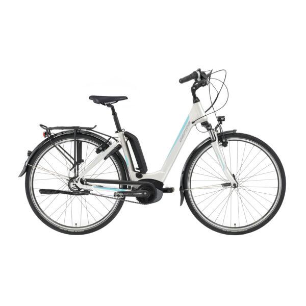 Gepida Reptila 1000 Nexus 8 elektromos kerékpár fehér színben