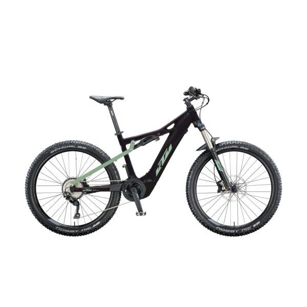 KTM Macina Lycan 272 Glory elektromos kerékpár fekete-kék színben