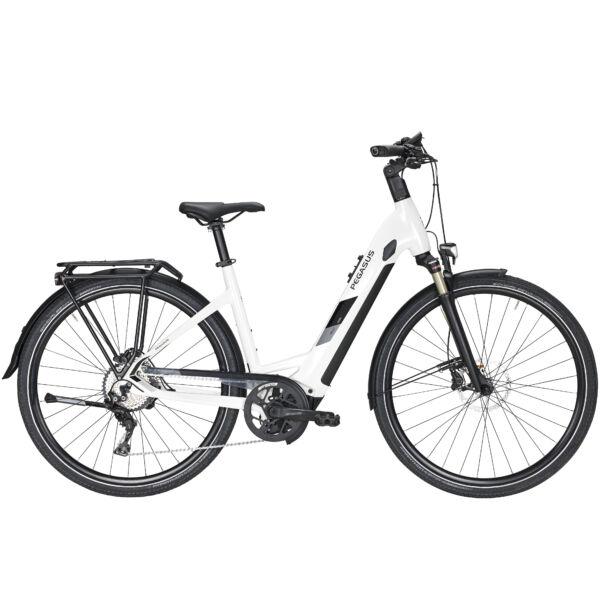 Pegasus Enovo Evo 10 elektromos kerékpár fehér színben