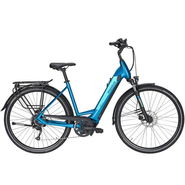 Pegasus Evo CX elektromos kerékpár türkiz színben