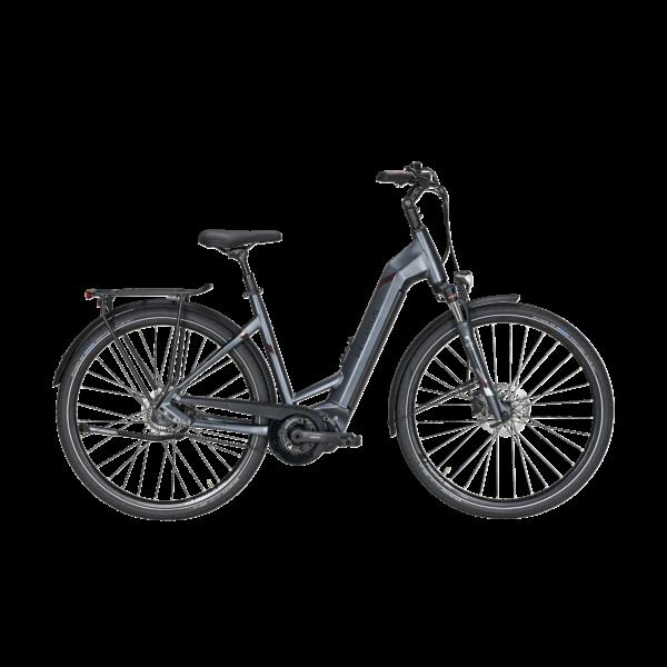 Pegasus Opero Evo 5F Di2 Automatic Belt automata váltós elektromos kerékpár grafit színben