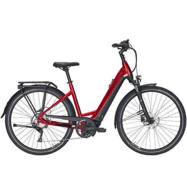 Pegasus Premio Evo 10 Lite elektromos kerékpár piros-fekete színben