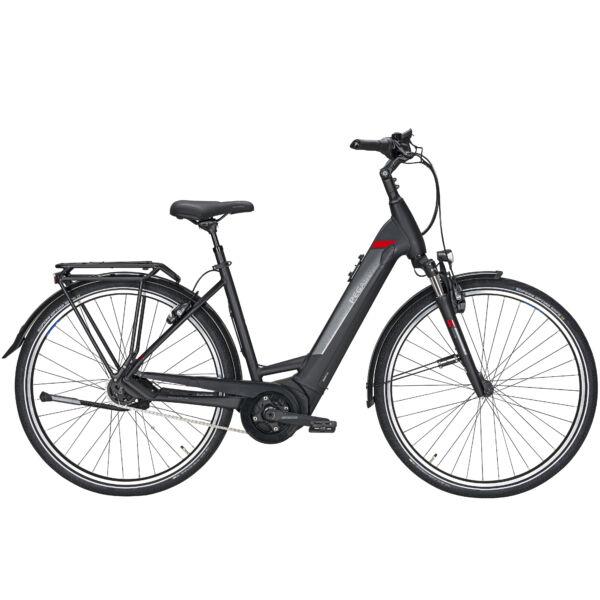 Pegasus Premio Evo 5R elektromos kerékpár fekete színben