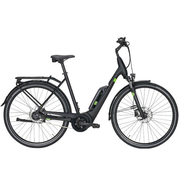 Pegasus Solero E5F Sport elektromos kerékpár fekete színben