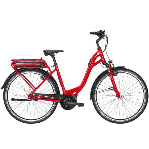 Pegasus Solero E7F elektromos kerékpár piros színben