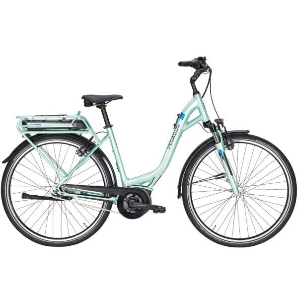 Pegasus Solero E7R elektromos kerékpár menta színben