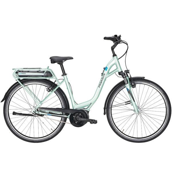 Pegasus Soler E7R Plus elektromos kerékpár menta színben