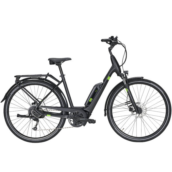 Pegasus Solero E9 Sport CX elektromos kerékpár fekete színben
