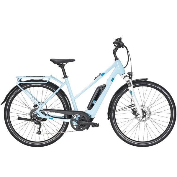 Pegasus Solero E9 Sport CX elektromos kerékpár menta színben