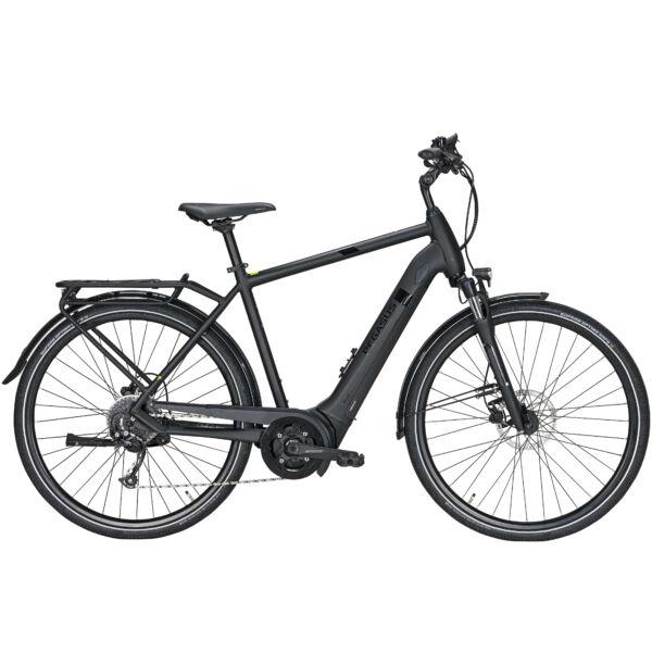Pegasus Solero Evo 9 elektromos kerékpár fekete színben