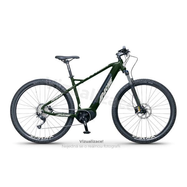 Apache Tuwan MX3 elektromos kerékpár sötétzöld színben