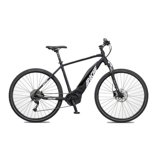 Apache Matto Bosch Performance elektromos kerékpár fekete színben