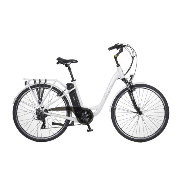 APACHE Wakita City 28 TX8 elektromos kerékpár fehér színben