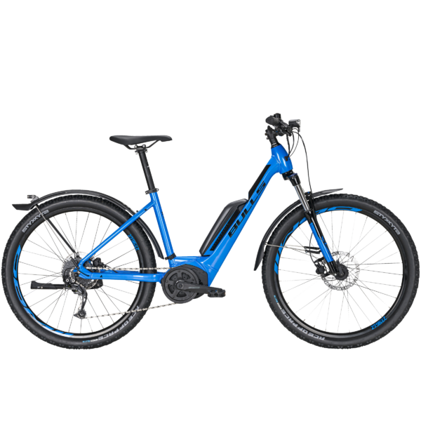 Bulls Copperhead E1 Street elektromos kerékpár kék színben