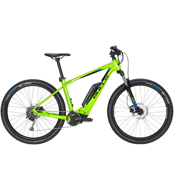 """Bulls Copperhead E2 27,5"""" elektromos kerékpár lime színben"""