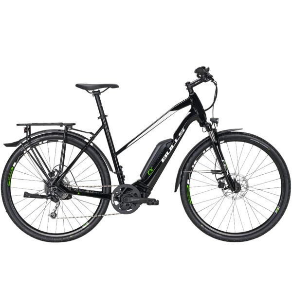 """Bulls Cross Street E1 elektromos kerékpár """"black"""" színben"""