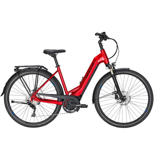 """Bulls Lacuba Evo 10 elektromos kerékpár """"chrome red"""" színben"""
