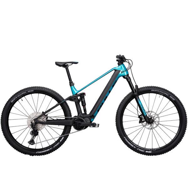 Bulls Sonic Evo AM-SL 1 elektromos kerékpár kék-fekete színben