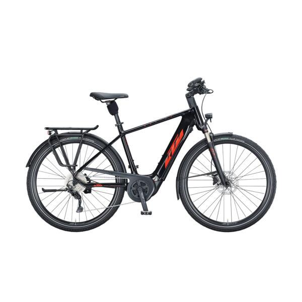 KTM Macina Tour P610 elektromos kerékpár fekete színben