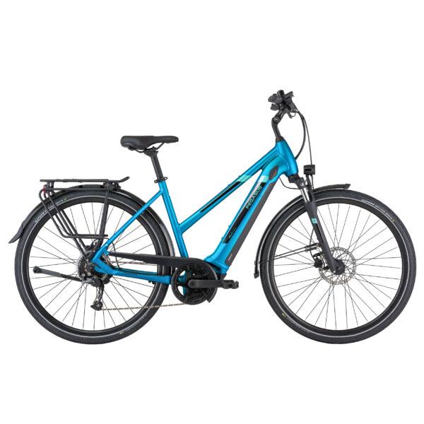 Pegasus Evo CX elektromos kerékpár türkiz színben, női vázas