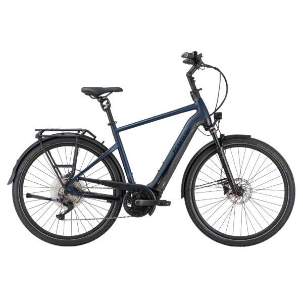 Pegasus Premio Evo 10 Lite Comfort elektromos kerékpár férfi vázzal, kék színben