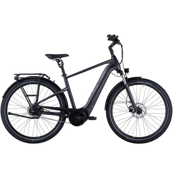 Pegasus Savino Evo 5F Performance férfi vázas SUV elektromos kerékpár fekete színben