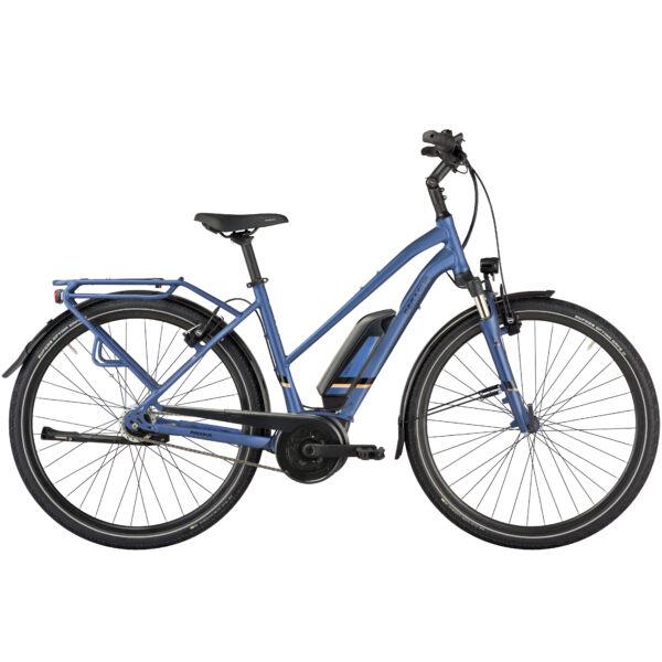 Pegasus Solero E8R Lite elektromos kerékpár női vázzal, kék színben