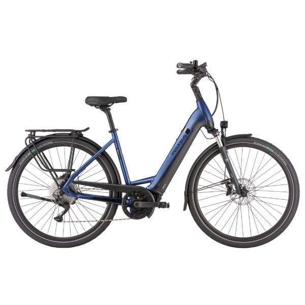 Pegasus Strong Evo 10 Lite elektromos kerékpár unsiex vázzal, extra teherbírású, kék színben