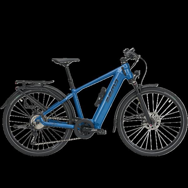 Zemo ZE 10 elektromos kerékpár férfi vázzal, kék színben