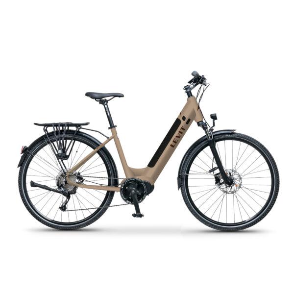 LEVIT Musca MX 630 elektromos kerékpár komfort vázzal latte színben