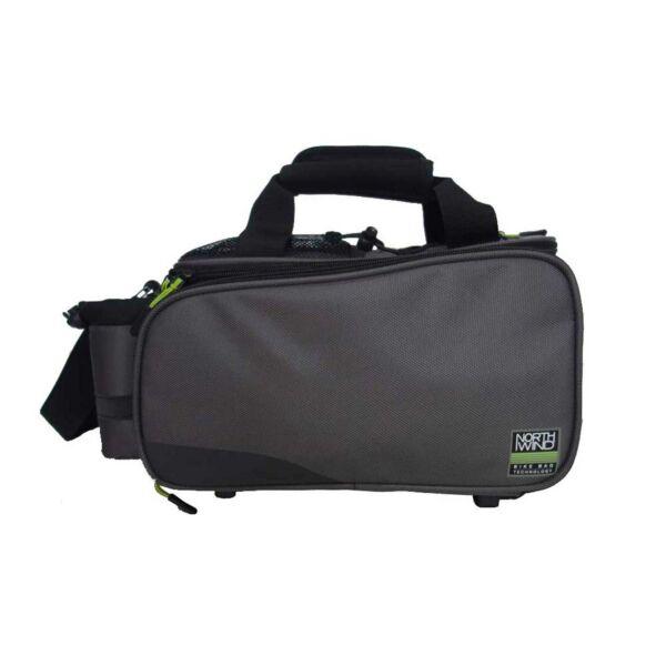 Northwind Smartbag Touring szürke i-Rack 2 táska zöld húzókával