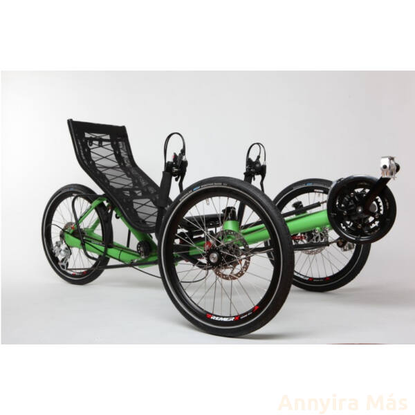 Azub T-Tris foldable tadpole trike Shimano Acera