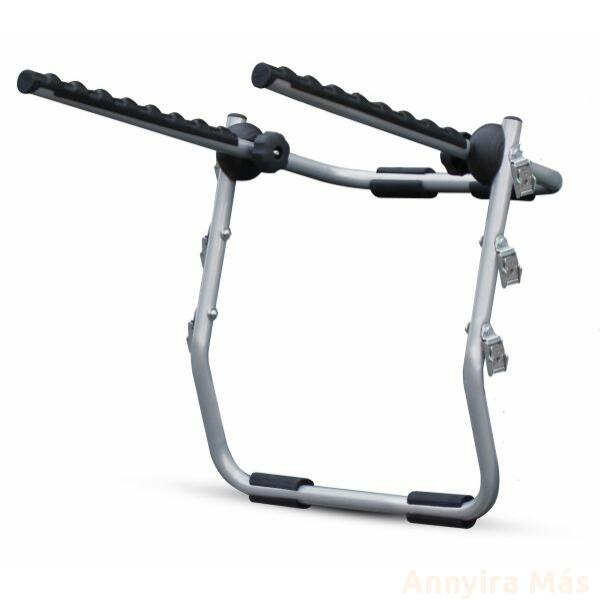 Kerékpártartó Autóra Hátsó Acél BIKI 3db Max 45Kg
