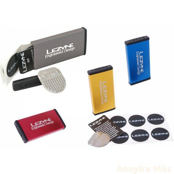 Lezyne Metal Kit gumijavító készlet Lezyne Metal Kit kék