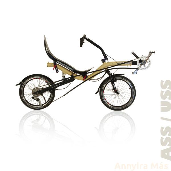 Azub Bufo fekvőkerékpár Shimano Alivio felszereltséggel