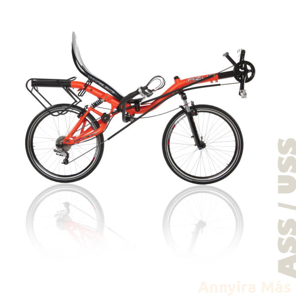 Azub Max fekvőkerékpár Shimano Alivio felszereltséggel