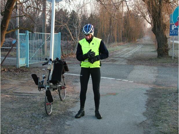 biciklizés télen